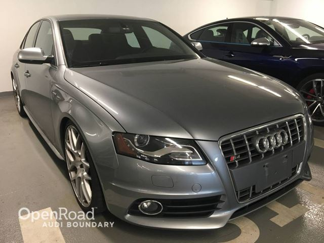2011 Audi S4 4dr Sdn Manual in Vancouver, British Columbia