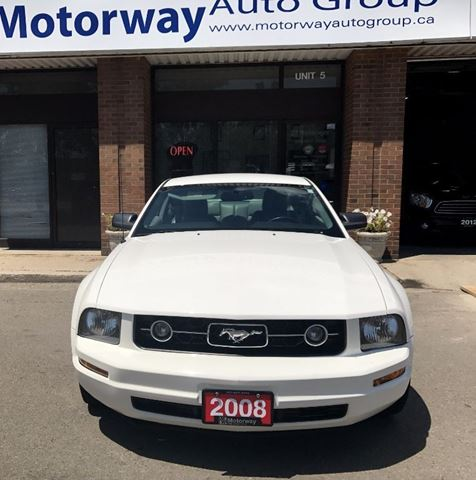 2008 Ford Mustang V6 Automatic with leather in Mississauga, Ontario