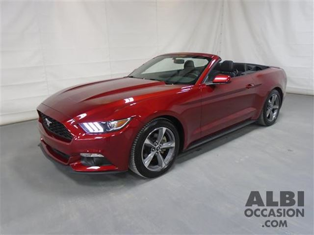 2016 Ford Mustang V6 CONVERTIBLE in Joliette, Quebec