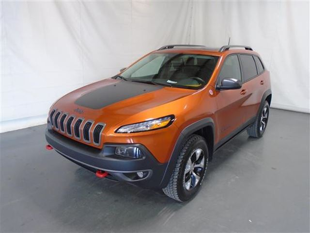 2016 Jeep Cherokee TRAILHAWK NAV 4X4 in Mascouche, Quebec