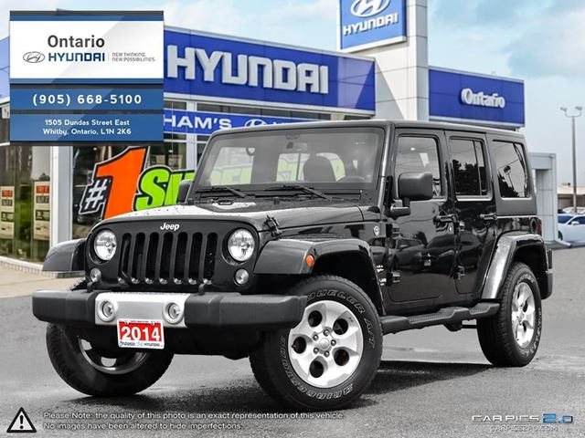 2014 Jeep Wrangler Unlimited Sahara in Whitby, Ontario