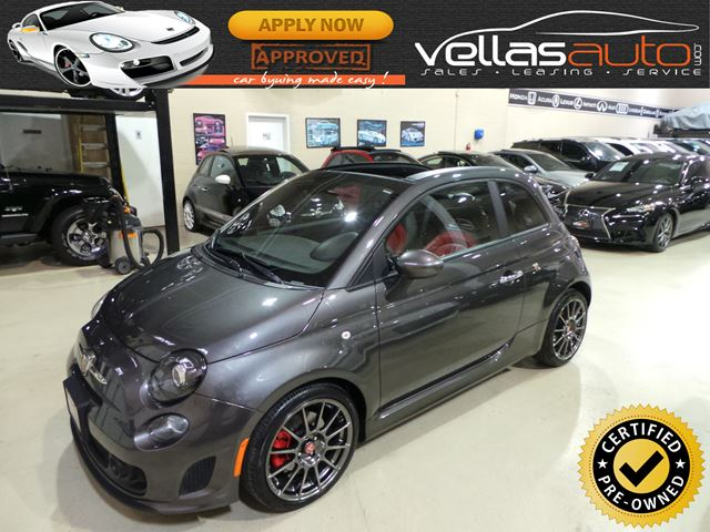 2015 FIAT 500 Abarth ABARTH| COVERTIBLE| AUTO| BEATS BY DR DRE in Vaughan, Ontario