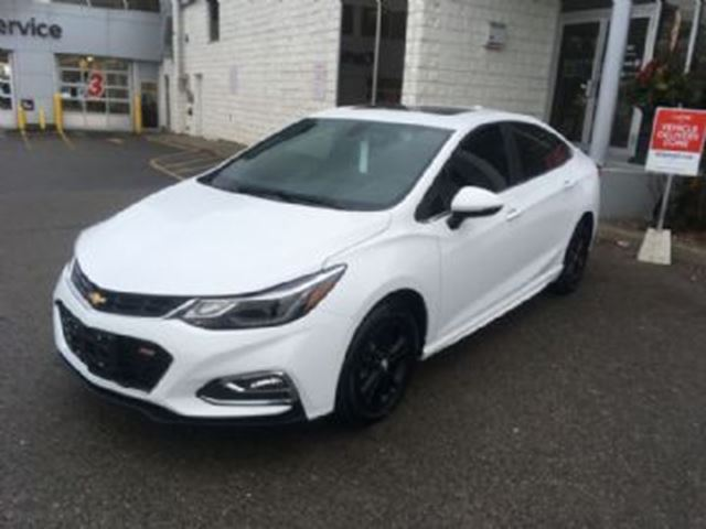2017 Chevrolet Cruze 1.4L LT w/1SD ~ Employee Pricing in Mississauga, Ontario