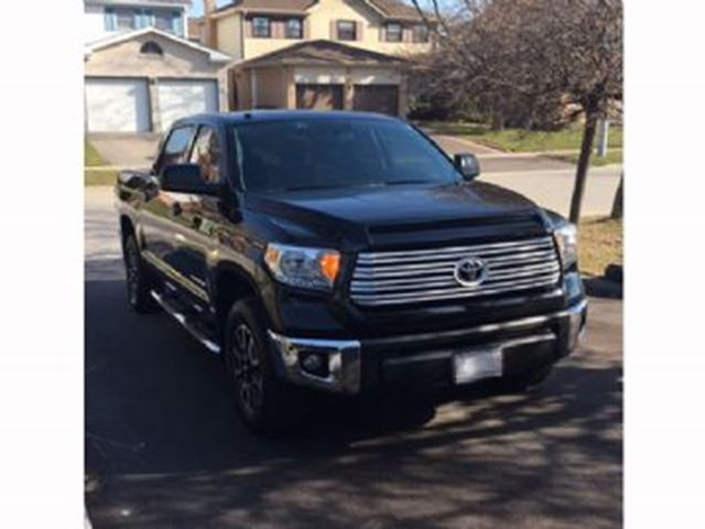 2016 Toyota Tundra 4WD SR5 CREWMAX TRD OFFROAD in Mississauga, Ontario
