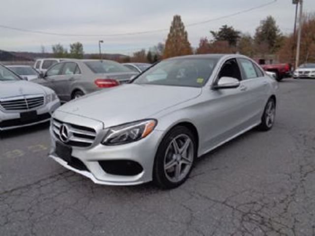 2015 Mercedes-Benz C-Class 4dr Sdn C400 4MATIC ~SHORT TERM ~ in Mississauga, Ontario
