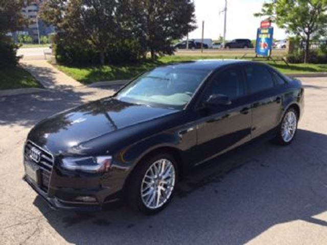 2015 Audi A4 Low Km Audi A4 Komfort Quattro, Automatic only $486/m +hst! in Mississauga, Ontario