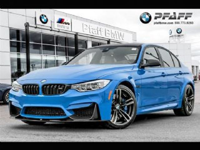 2017 BMW M3 4dr Ultimate Edition w/Santorini Blue in Mississauga, Ontario