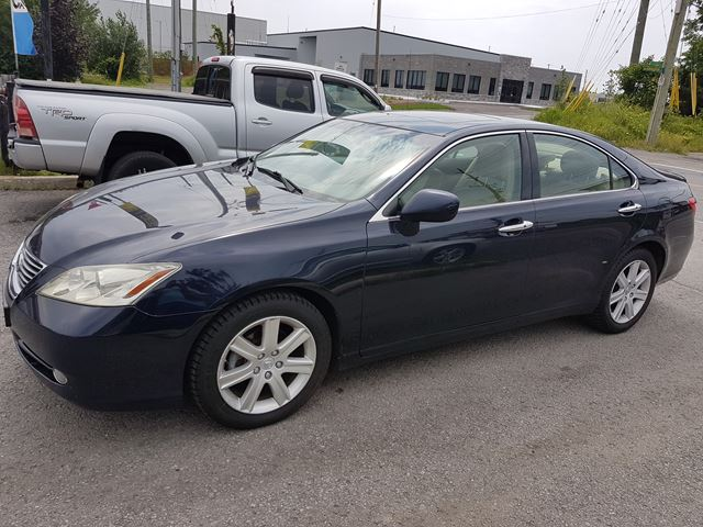 2007 LEXUS ES 350 AUTOMATIC, LEATHER, SUNROOF, 171 KMS in Ottawa, Ontario