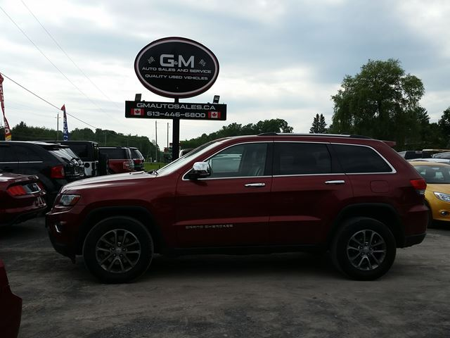 2014 Jeep Grand Cherokee Limited in Rockland, Ontario
