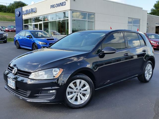 2015 Volkswagen Golf Comfortline TSI Turbo 5spd in Kitchener, Ontario