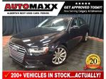 2014 Audi A4 2.0 Komfort w/Leather/Sunroof! in Calgary, Alberta