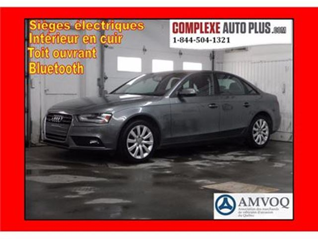 2013 AUDI A4 Komfort 2.0T Quattro *Cuir, Toit ouvrant 4x4 in Saint-Jerome, Quebec