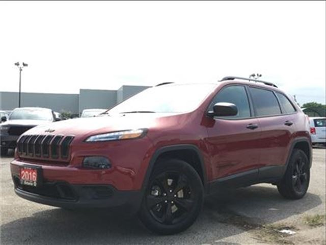 2016 JEEP CHEROKEE SPORT**4X4**ALTITUDE**BLUETOOTH**BACK UP CAM** in Mississauga, Ontario