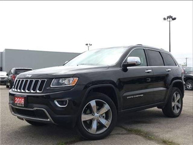 2016 JEEP GRAND CHEROKEE LIMITED**LEATHER**SUNROOF**NAV**BACK UP CAM** in Mississauga, Ontario