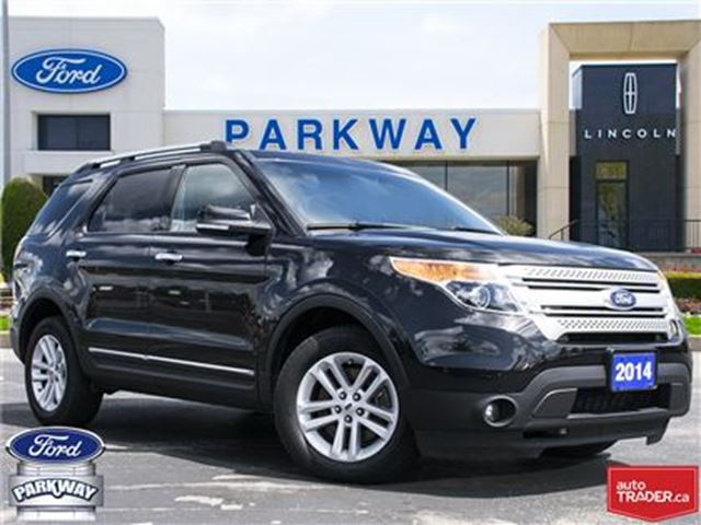 2014 Ford Explorer XLT 4WD  LEATHER  GPS  BLUETOOTH  SUNROOF  7 SEATS in Waterloo, Ontario