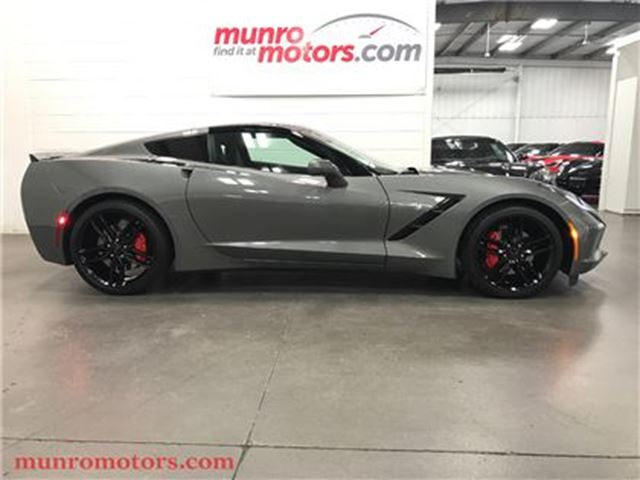2015 CHEVROLET CORVETTE Stingray 1LT NPP Automatic Glass Roof in St George Brant, Ontario