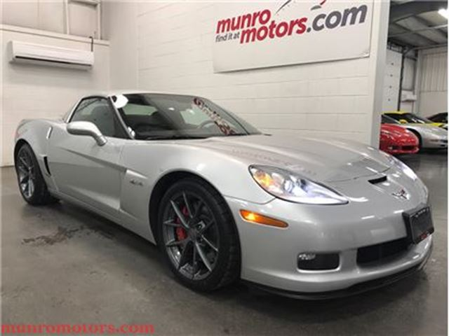 2010 CHEVROLET CORVETTE Z06 Fixed Roof 3LT Navigation in St George Brant, Ontario