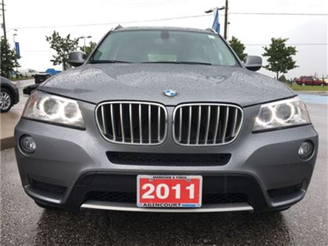 2011 BMW X3 xDrive28i - SUNROOF, ONE-OWNER, BLUETOOTH in Scarborough, Ontario