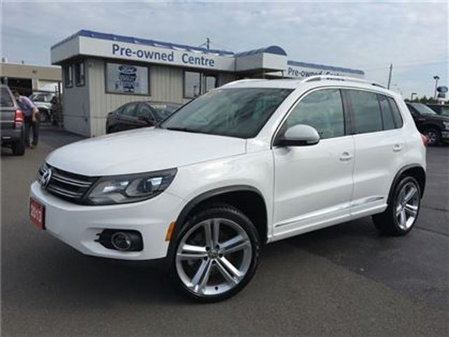 2013 VOLKSWAGEN TIGUAN 2.0 TSI R LINE 4Motion in Burlington, Ontario