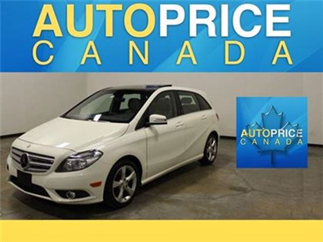 2014 MERCEDES-BENZ B-CLASS Sports Tourer PANORAMIC LEATHER in Mississauga, Ontario