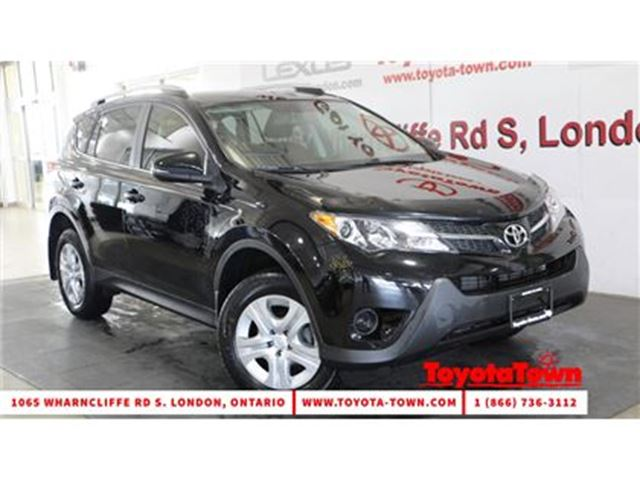 2015 Toyota RAV4 SINGLE OWNER LE HEATED SEATS & BACKUP CAMERA in London, Ontario