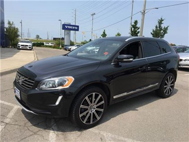 2015 VOLVO XC60 T6 AWD A Platinum LEASE RETURN, DEALER SERVICED. N in Mississauga, Ontario