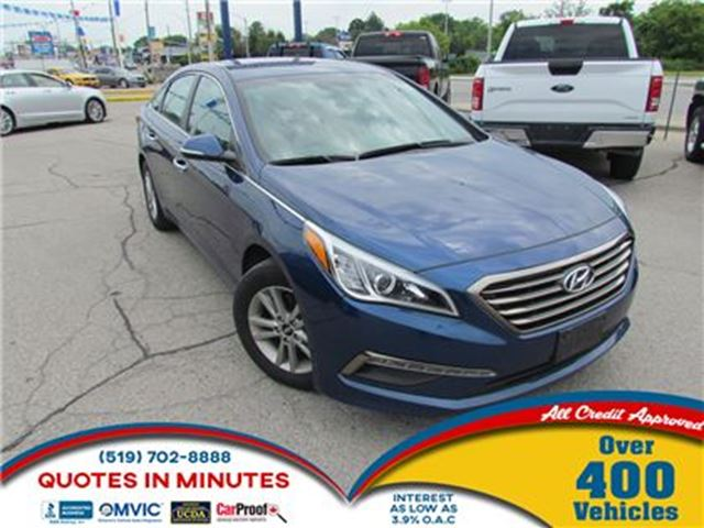 2017 Hyundai Sonata GLS   SUNROOF   BACKUP CAM   BLUETOOTH in London, Ontario