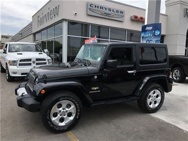 2015 JEEP WRANGLER Sahara in Burlington, Ontario