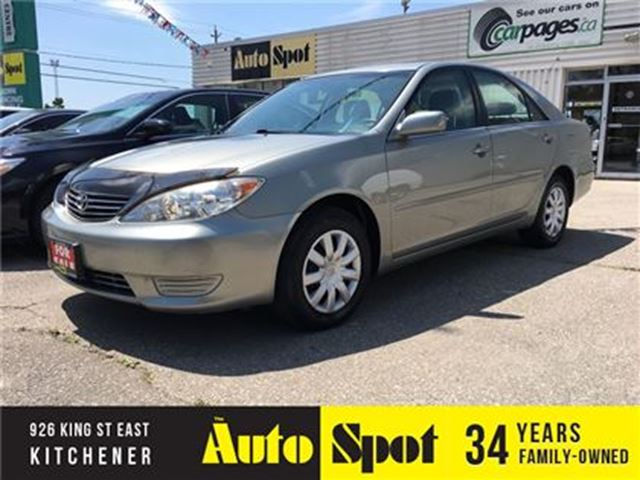 2006 Toyota Camry LE/ONLY 60,000 KMS!/NICE, NICE CAR!! in Kitchener, Ontario