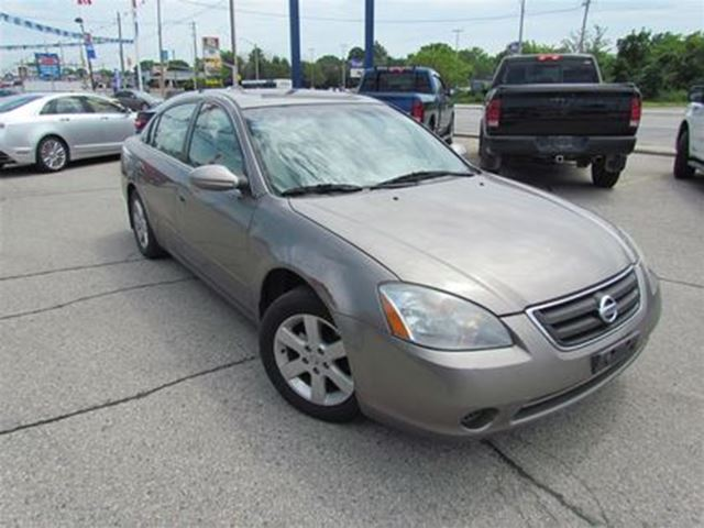 2003 Nissan Altima SL   LEATHER   FRESH TRADE   AS-IS SPECIAL in London, Ontario