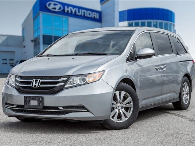2016 Honda Odyssey EX, power doors, alloy wheels in Mississauga, Ontario