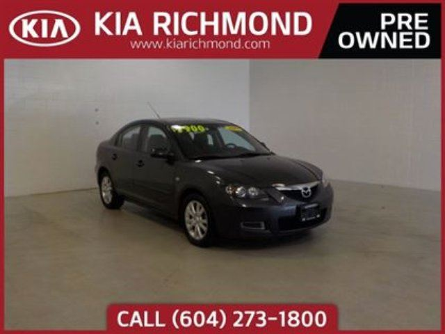 2007 MAZDA MAZDA3 GS Sunroof in Richmond, British Columbia