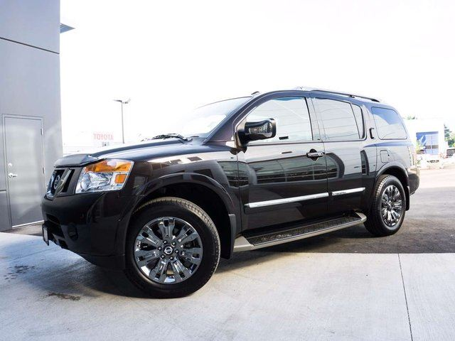 2015 NISSAN ARMADA Platinum Reserve w/Captain Chairs in Kelowna, British Columbia