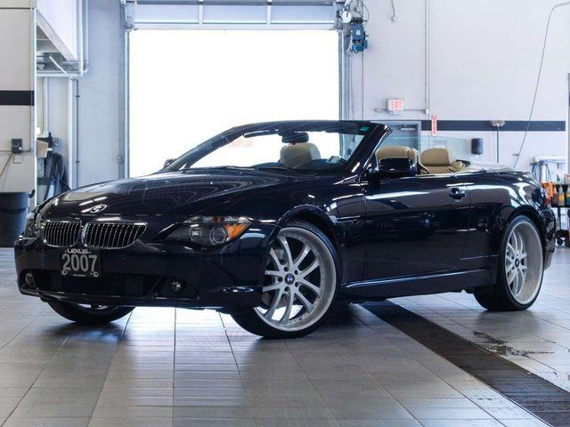 2007 BMW 6 Series Cabriolet in Kelowna, British Columbia