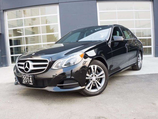 2014 MERCEDES-BENZ E-CLASS E250 BlueTEC w/Premium and Driving Assistance Packages in Kelowna, British Columbia