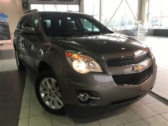 2012 CHEVROLET EQUINOX AWD Bluetooth Heated front seats in Red Deer, Alberta