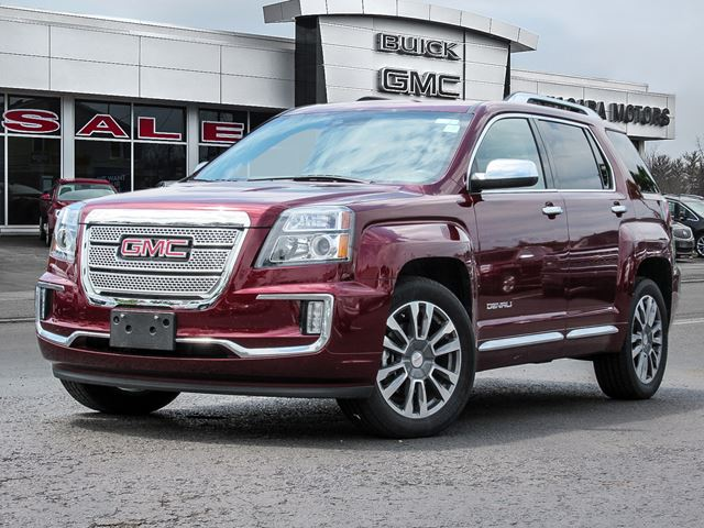 2016 GMC TERRAIN Denali AWD ** ONE Owner!  Purchased, Serviced A in Virgil, Ontario