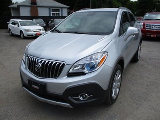 2015 Buick Encore LOADED AWD 5 PASSENGER 1.4L - TURBO.. LEATHER.. in Bradford, Ontario