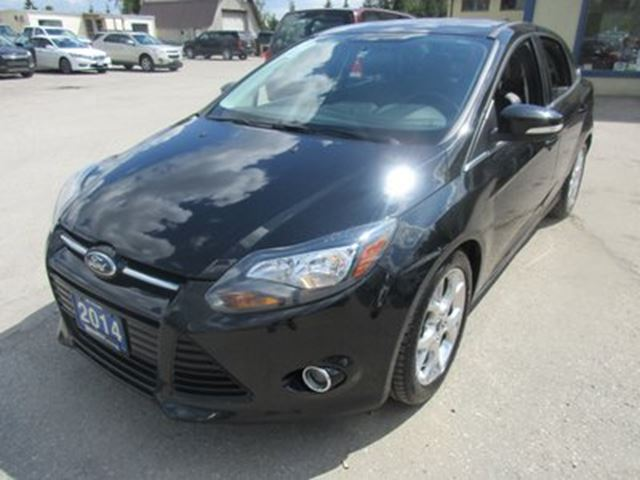 2014 Ford Focus 'GREAT VALUE' LOADED TITANIUM EDITION 5 PASSENG in Bradford, Ontario