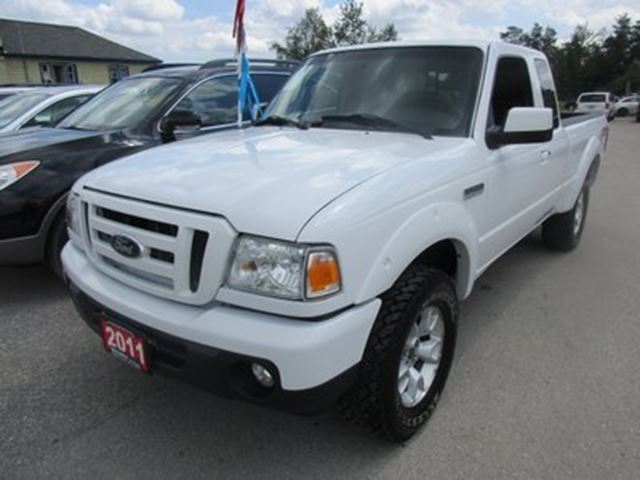 2011 Ford Ranger GREAT VALUE FX4 MODEL 4 PASSENGER 4.0L - V6.. 4 in Bradford, Ontario