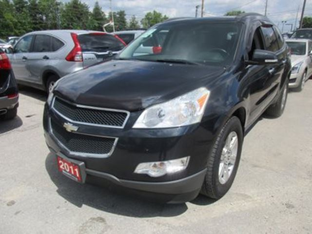 2011 Chevrolet Traverse FAMILY MOVING LT MODEL 7 PASSENGER 3.6L - V6..  in Bradford, Ontario