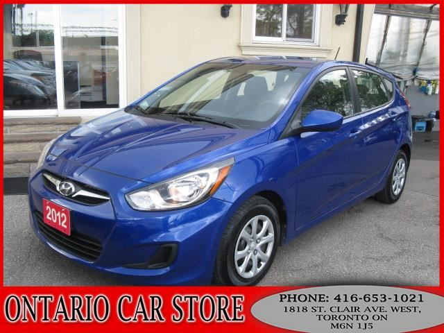 2012 Hyundai Accent GL H/B 1 OWNER NO ACCIDENTS in Toronto, Ontario