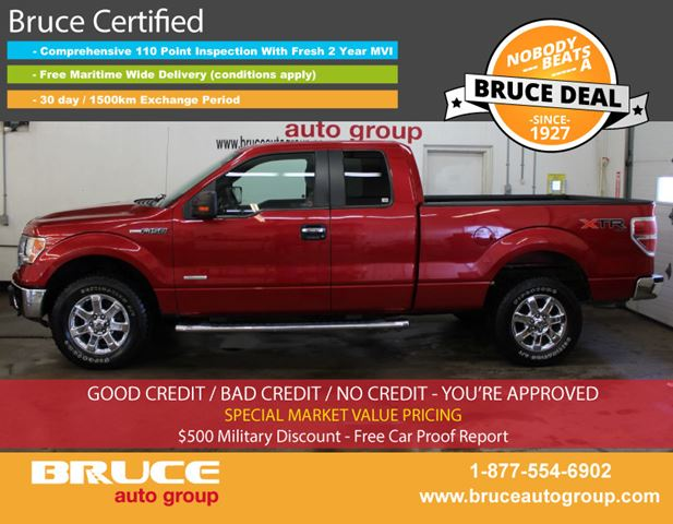 2011 FORD F-150 XTR 3.5L 6 CYL AUTOMATIC 4X4 SUPERCAB in Middleton, Nova Scotia