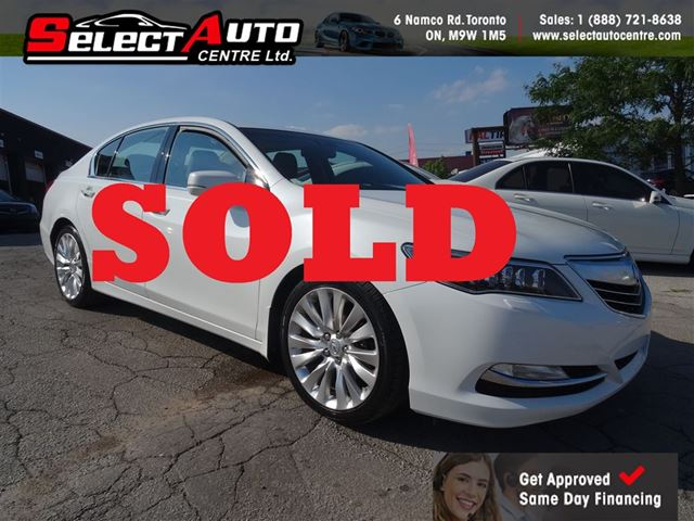 2014 ACURA RLX P-AWS*TECH PACKAGE*ONE OWNER* in Toronto, Ontario