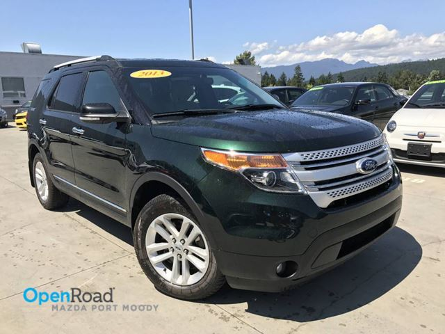 2013 FORD EXPLORER XLT 4WD A/T No Accident One Owner Bluetooth AUX in Port Moody, British Columbia