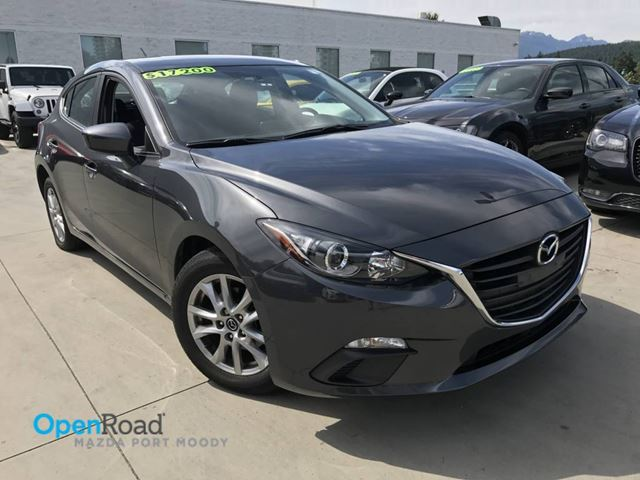 2015 MAZDA MAZDA3 GS HB A/T Local One Owner Bluetooth USB AUX Hea in Port Moody, British Columbia