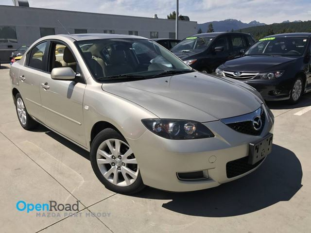2008 MAZDA MAZDA3 A/T Local Low Kms Leather Sunroof Curise Contro in Port Moody, British Columbia