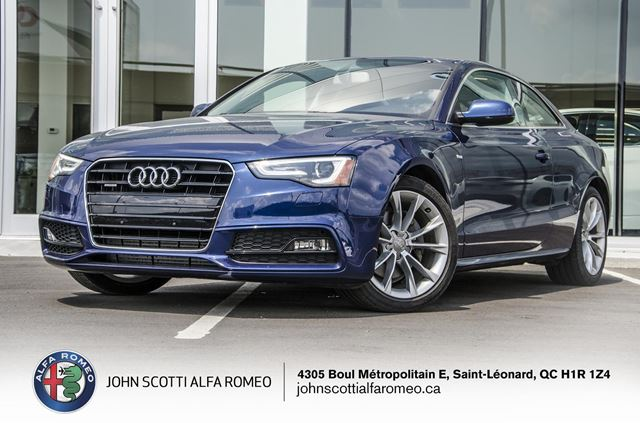 2015 Audi A5 *MINT CONDITION* in Montreal, Quebec