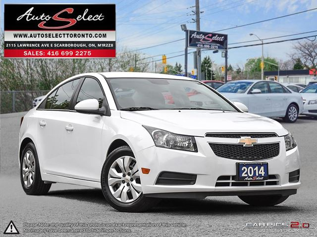 2014 Chevrolet Cruze ONLY 54K! **BLUETOOTH** CLEAN CARPROOF in Scarborough, Ontario