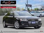 2013 Audi A4 Quattro AWD ONLY 62K! **LED LIGHTING PKG** CLEAN CARPROOF in Scarborough, Ontario